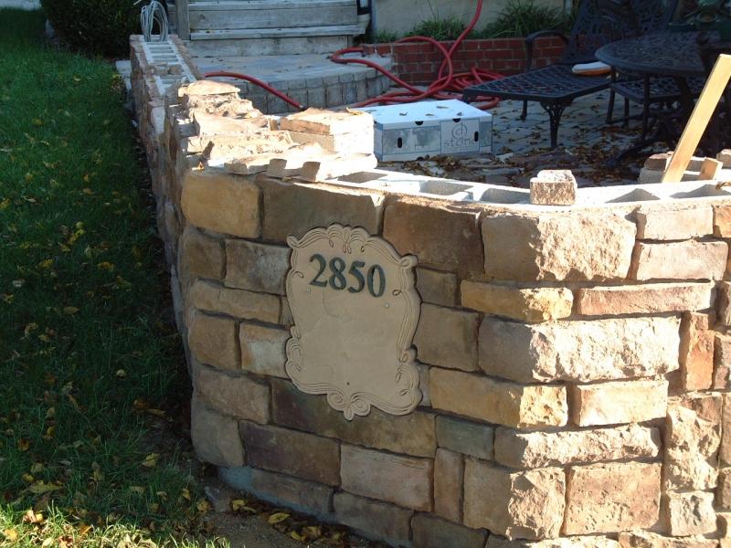 """House Address 2"""" Fieldstone"""
