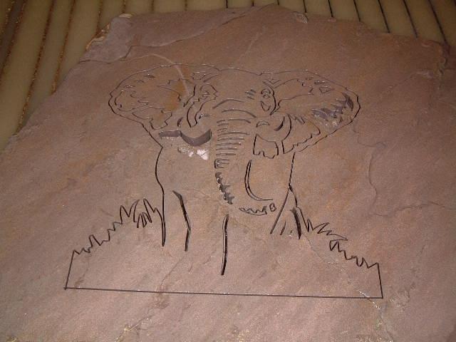 "Elephant 2"" Fieldstone"