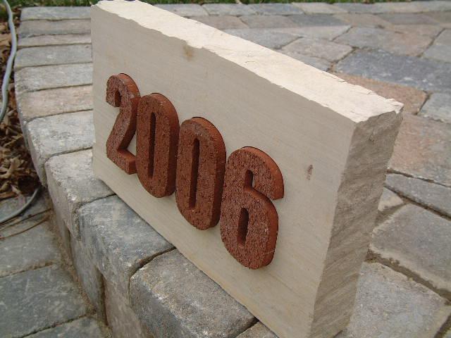 "2.5"" Brick Stone"