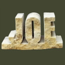 3 Letter Rock Slight angle